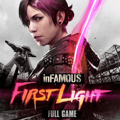 Capa de inFamous First Light