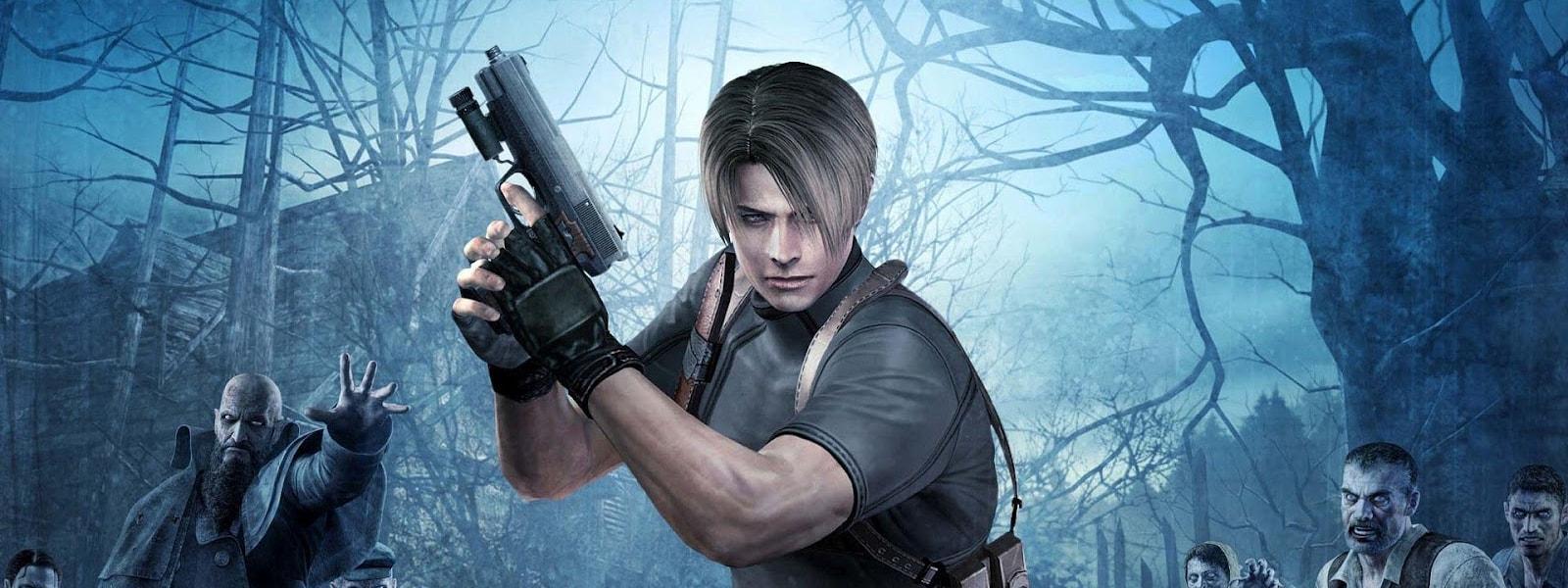 Leon em Resident Evil 4
