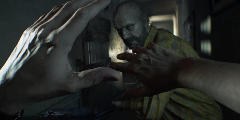Resident Evil na primeira pessoa. Tantas noites sem dormir.