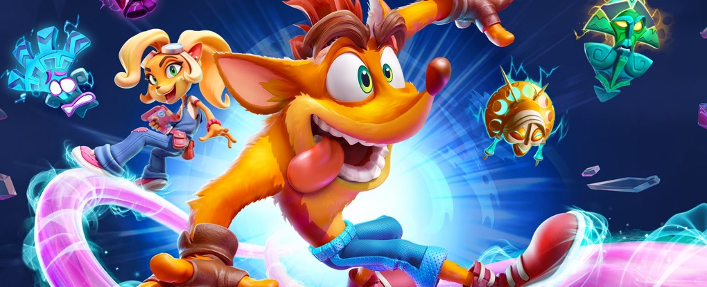 Destaque de Crash Bandicoot 4: It's About Time