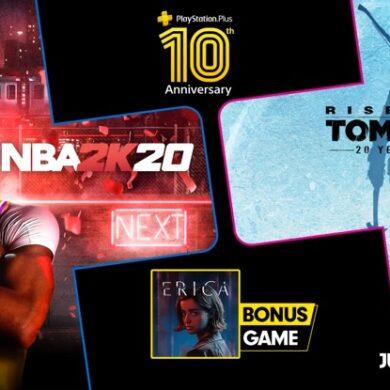 PlayStation Plus Julho
