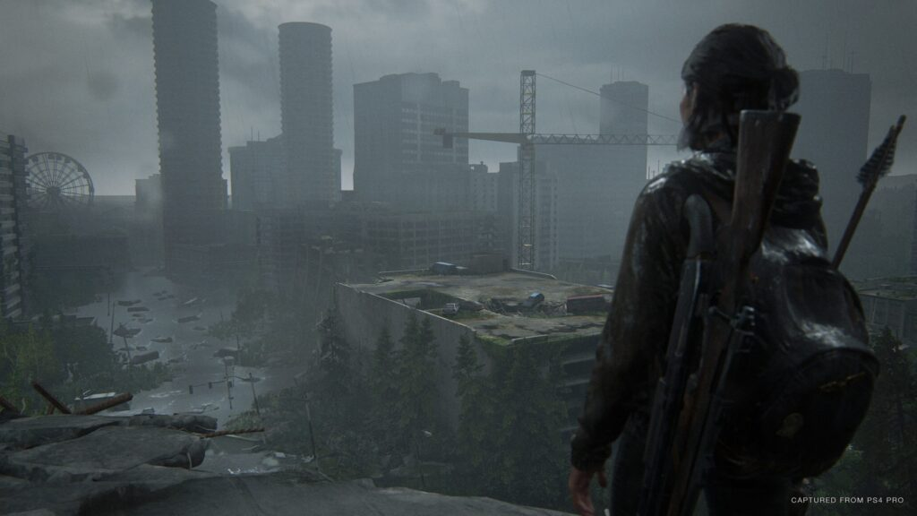 Ellie em The Last of Us Parte II