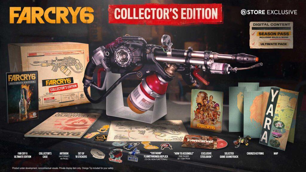 Edição Colecionador Far Cry 6