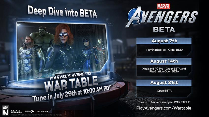 Beta de Marvel's Avengers