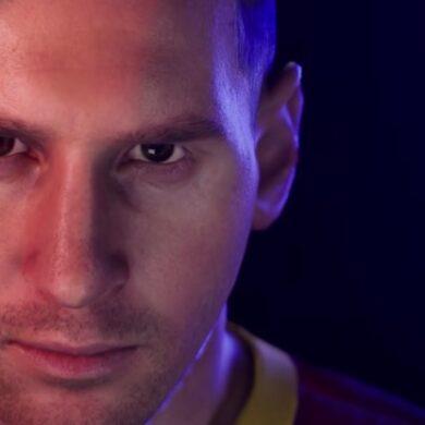 Lionel Messi em PES 2021