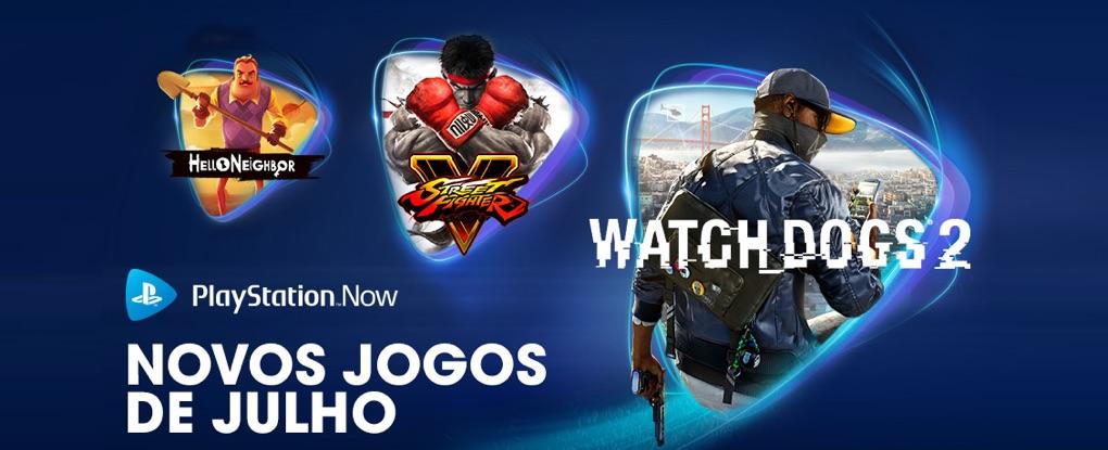 PlayStation Now de Julho 2020
