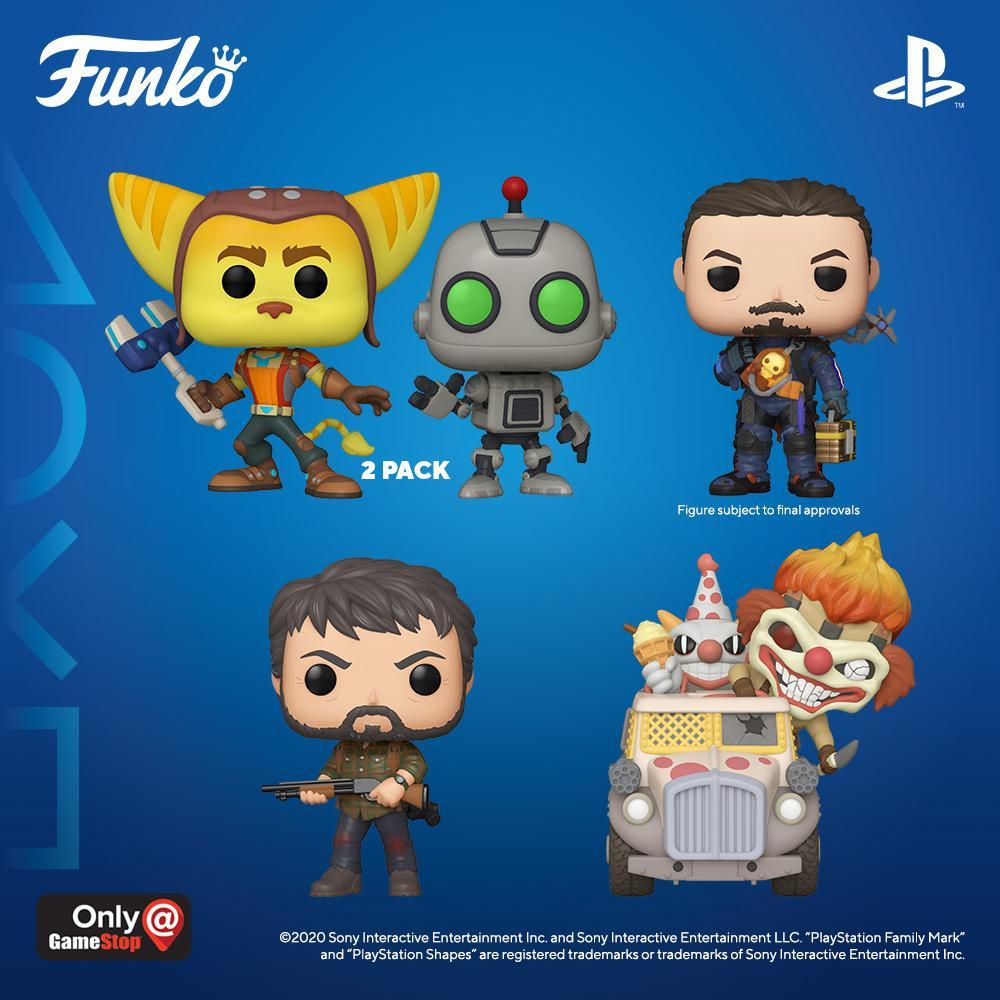 Funkos PlayStation