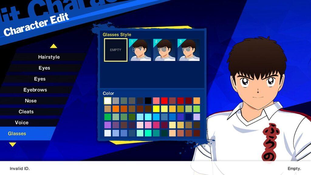 Personalização Tsubasa