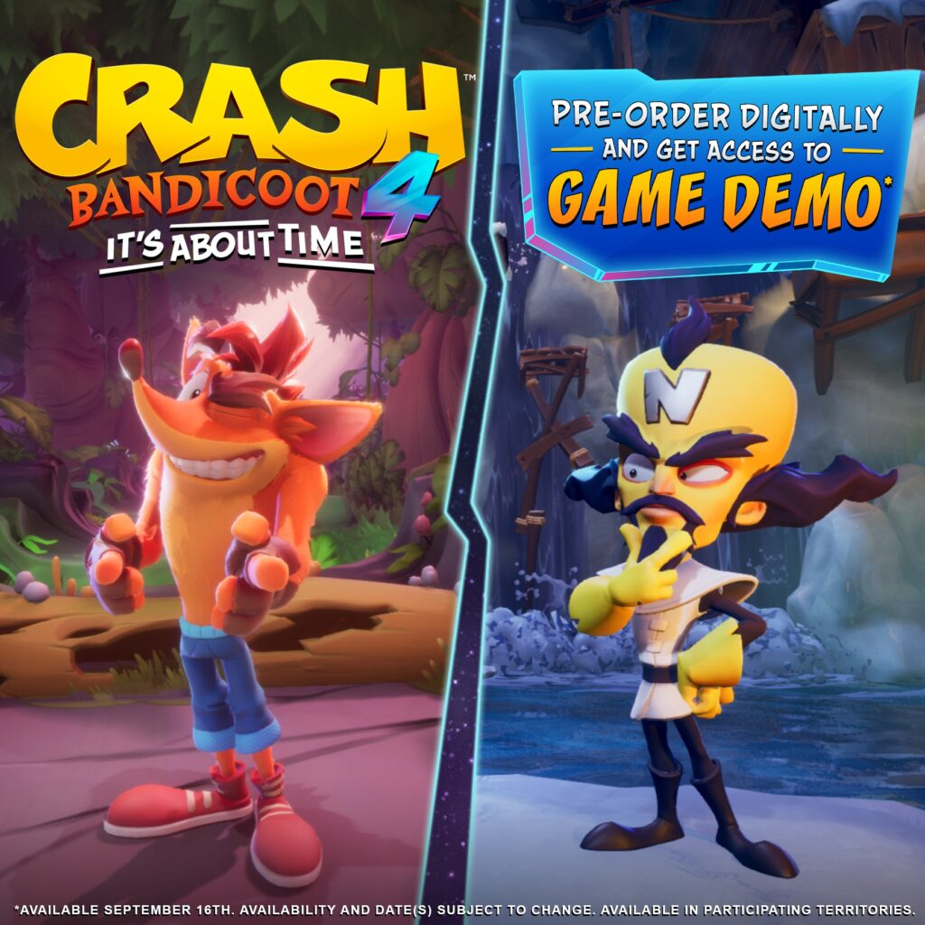 Demo de Crash 4
