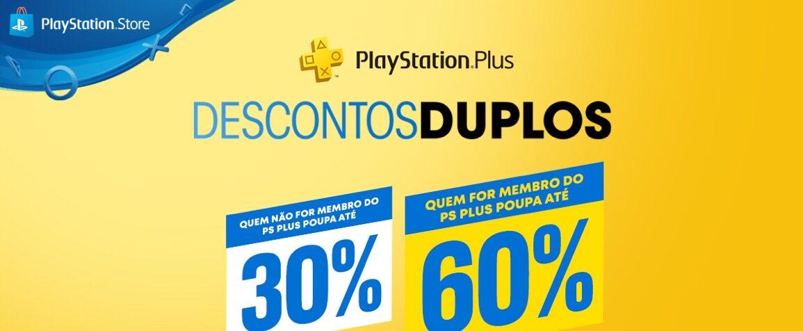 Descontos Duplos na PlayStation