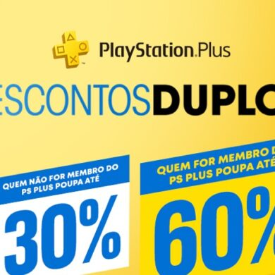 Descontos Duplos na PlayStation