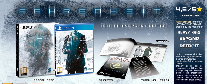 Fahrenheit na PS4
