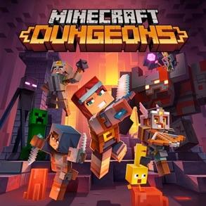 Capa de Minecraft Dungeons