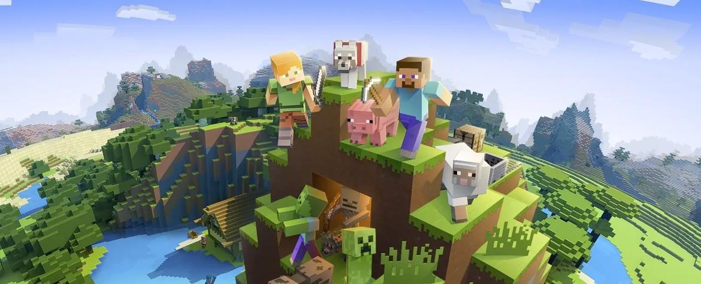 Destaque de Minecraft
