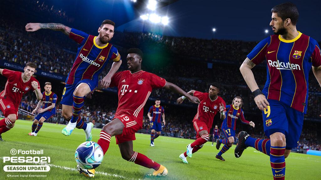 Messi em PES 2021