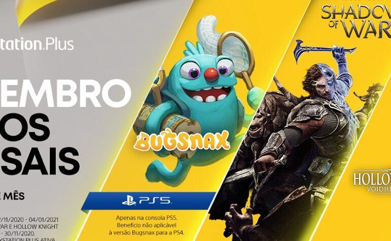 Jogos PS Plus de Novembro