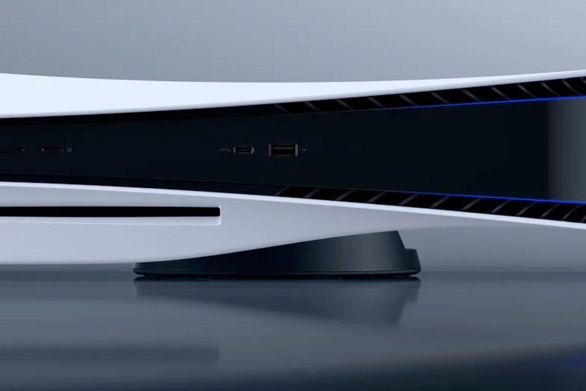 PS5 na horizontal