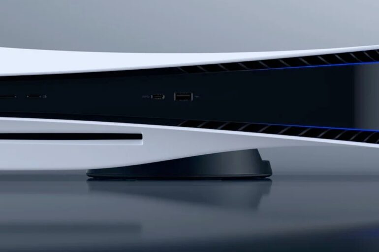 PS5 na horizontal