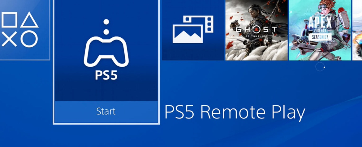 PS5 remote play