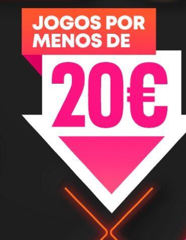 Jogos por menos de 20€