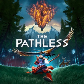 Capa de The Pathless