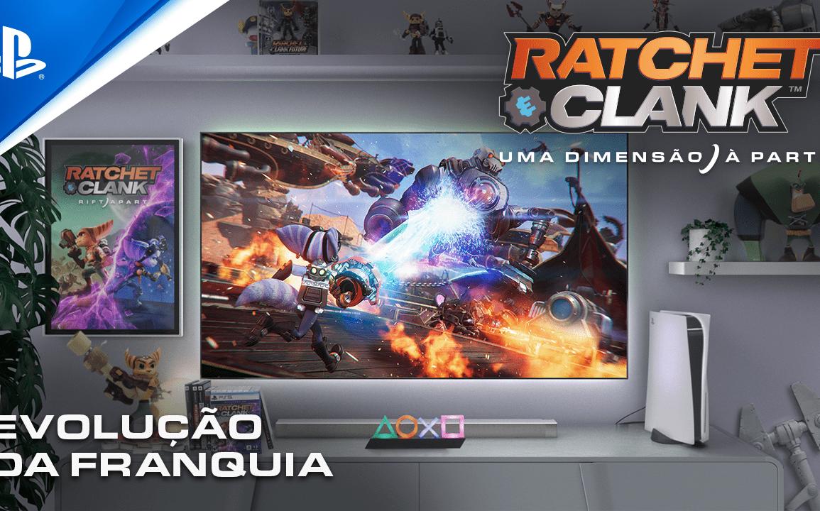 Ratchet and Clank e a Evolução da Franquia