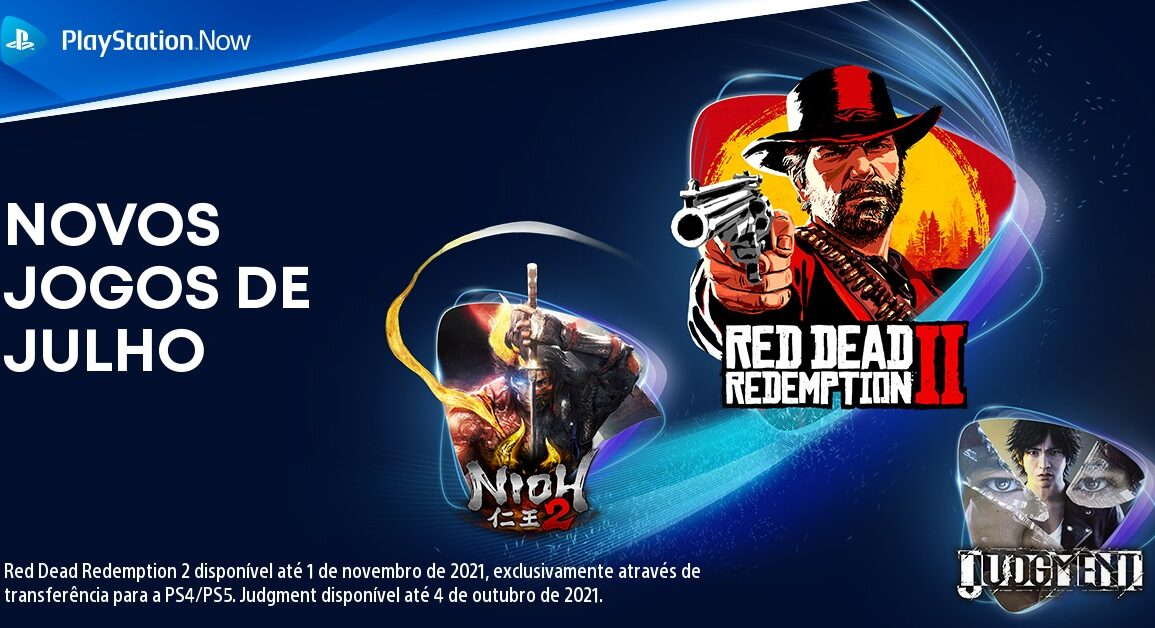 PS Now Julho